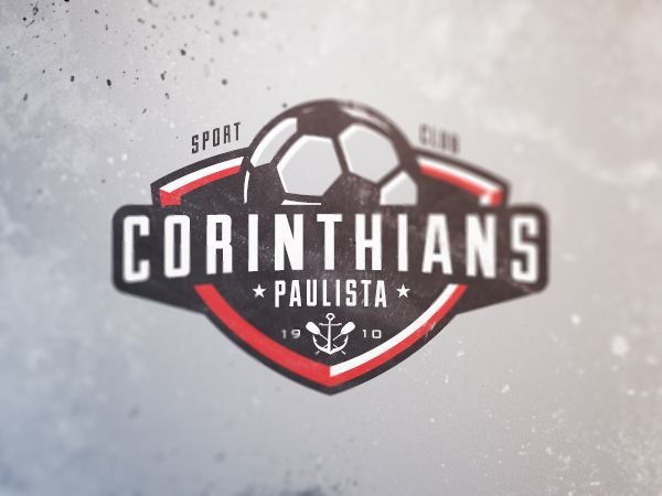 Corinthians Paulista by Brandon Williams, via Behance