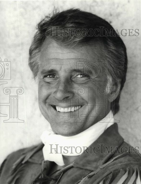 Press photo of Lyle Waggoner, 1983.