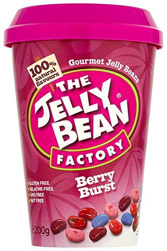 The Jelly Bean Factory Cup of Berry Burst Jelly Beans 200 g (Pack of 3)