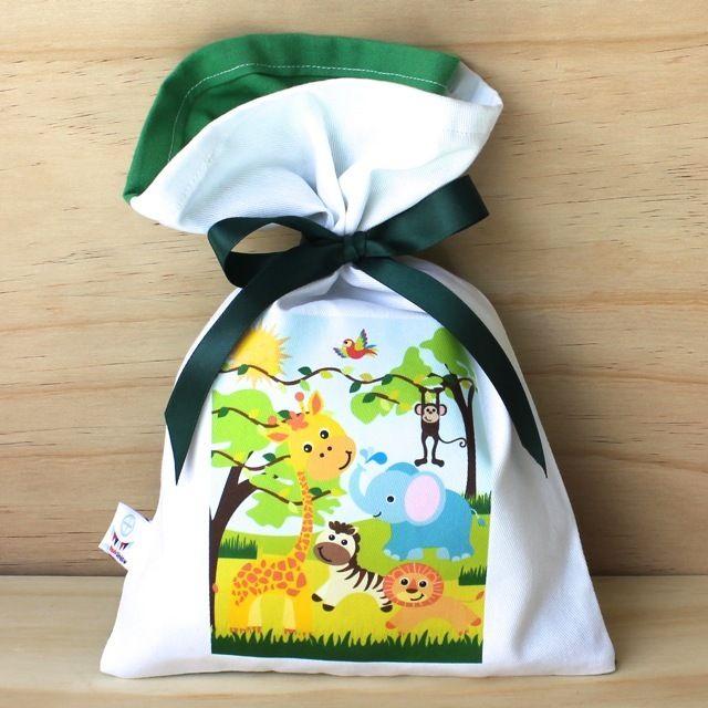 Jungle Cotton Party Bag