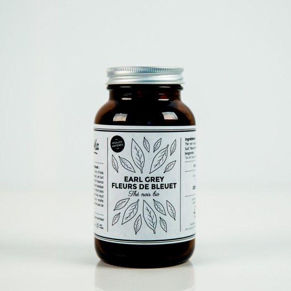 EARL GREY / FLEURS DE BLEUET – Thé noir bio   GreenMa