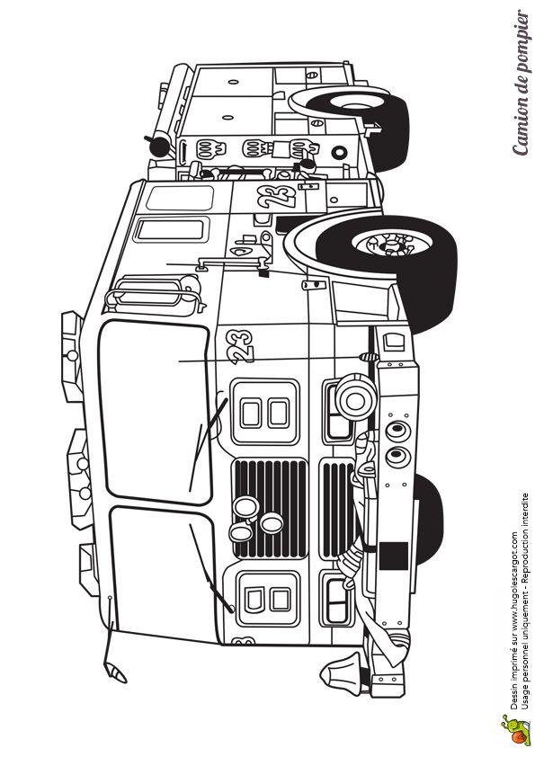 86 best images about coloriages de camions on pinterest cars cartoon and lego - Coloriage camion de poubelle ...