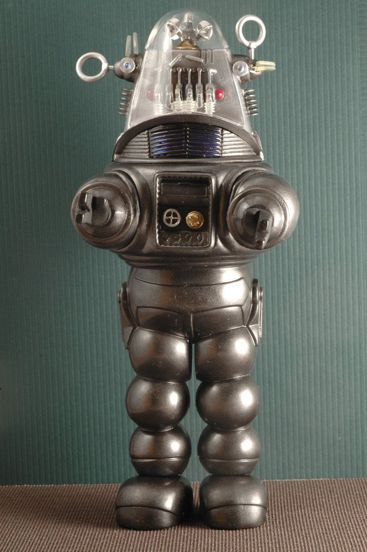 Robby the Robot ... http://th05.deviantart.net/fs71/PRE/i/2013/098/a/e/robby_the_robot_by_pyranose-d60tqev.jpg