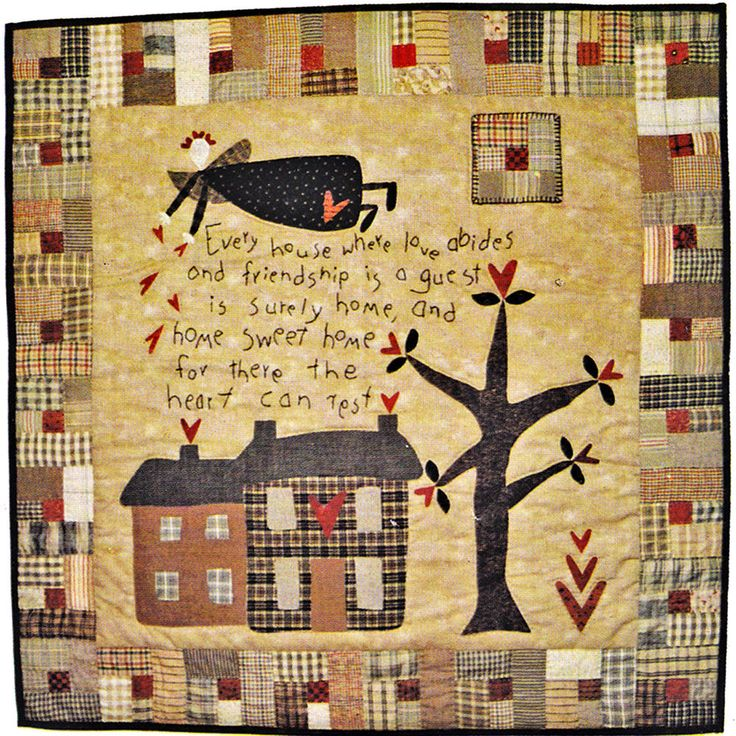 858 best Colchas/Tapices images on Pinterest : primitive quilting - Adamdwight.com