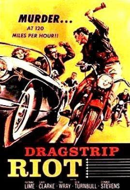 Vintage Movie Posters: Movie Posters, Vintage Posters, Picture-Black Posters, Comic Books, Art, Riot 1958, Dragstrip Riot, Film Posters, Vintage Movie