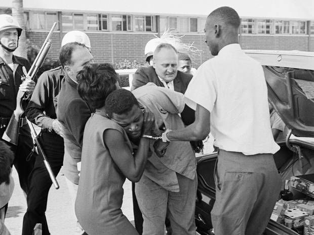 50 years after Watts riots, similar scenes seen on the streets of Ferguson - Americas - World - The Independent