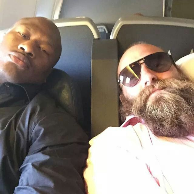 PITTSBURGH STEELERS~James Harrison and Brett Keisel!!! After a Steelers Win!!! :D