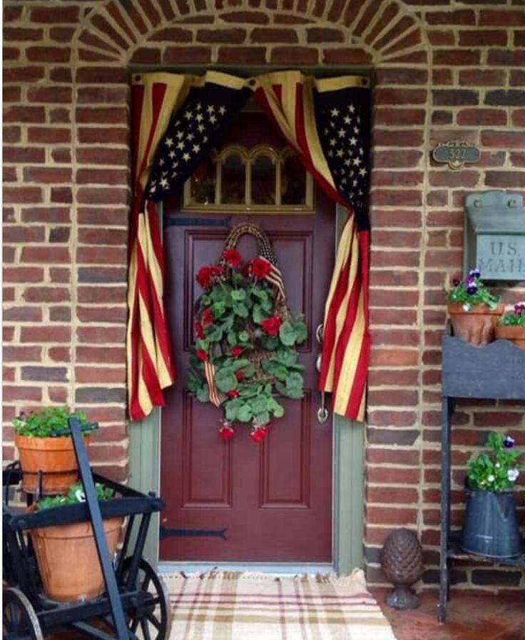 americana 4th of july decorating - Americana Home Decor