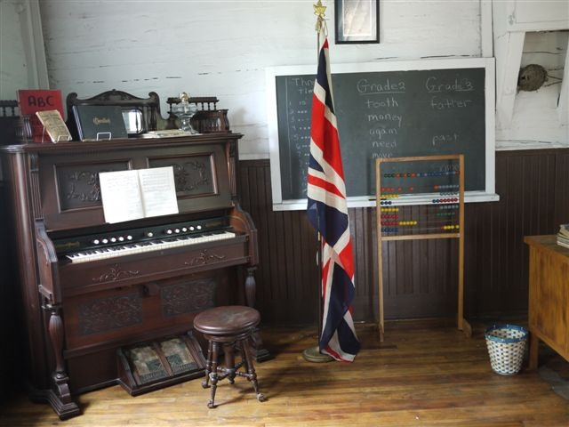 1873 pump orgam in the SS# 3 School House Petawawa Heritage Village