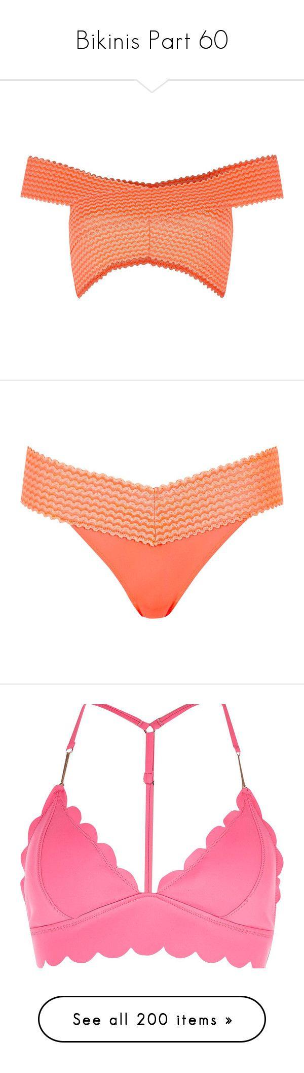 """Bikinis Part 60"" by leanne-mcclean ❤ liked on Polyvore featuring swimwear, bikinis, bikini tops, tall tankini tops, bandage bikini top, river island, swim suit tops, tankini tops, low rise bikini and tall swimwear"