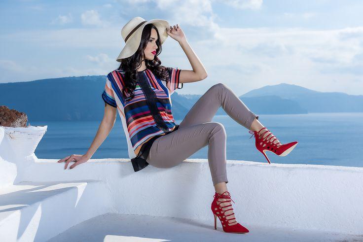 CHIARA DALBA SS2016 COLLECTION #fashion #glamour #moda #donna #jeans #denim #skinny #jacket #pantaloni #fresh #shirt #estate #2016 #madeinitaly #luxury #pantaloni #maglia #blusa #taglie #comode #female #shopping #camicia #colors #colori #outfit