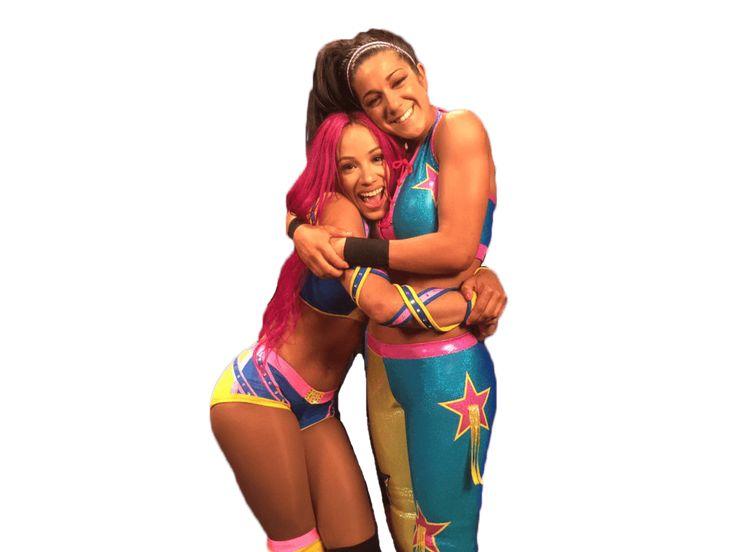 Bayley y Sasha Banks