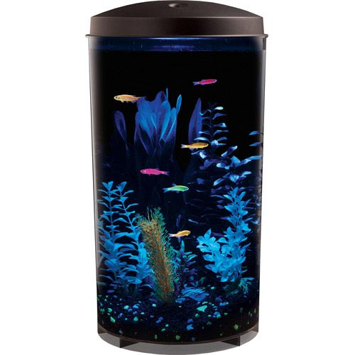I think this is so cool walmart aquarius glofish 360 top for Fish tank top