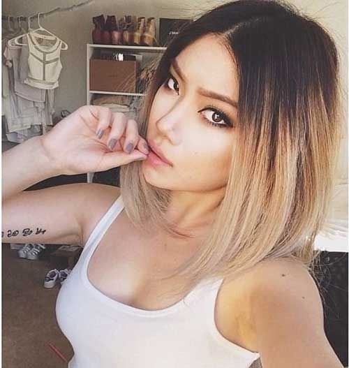 Ombre Hair Color for Short Hair 2015-9