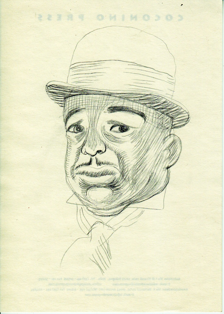 Igort. FATS WALLER sketch. 2004. (Courtesy Igort Archives)