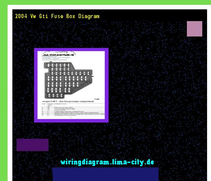 2004 Vw Gti Fuse Box Diagram