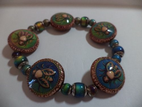 Color Change Mood Bead Stretch Bracelet (HB)
