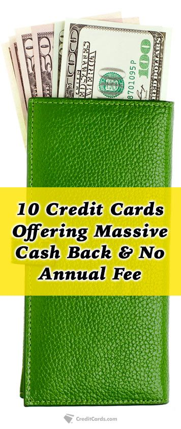 Looking for a credit card with great rewards but refuse to pay an annual fee? Creditcards.com has you covered with the top cash back cards on the market today that don't charge an annual fee while still offering generous rewards. Get the details today at Creditcards.com to see if one of these cards is right for you.