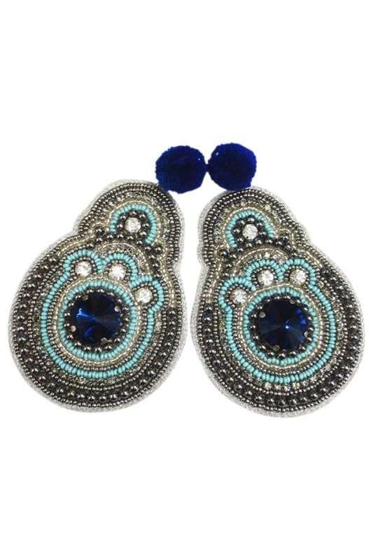 Eb & Ive - Ra Ra Earring Midnight