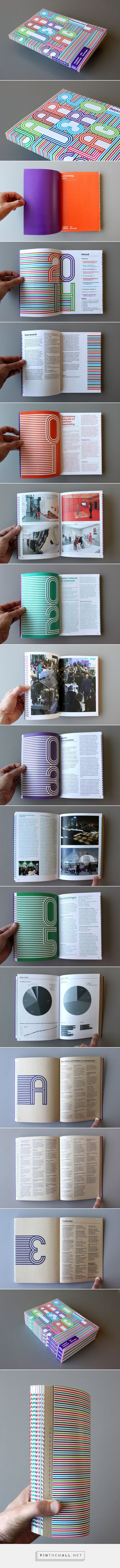 Museum Boijmans / annual report by Vicente Granger