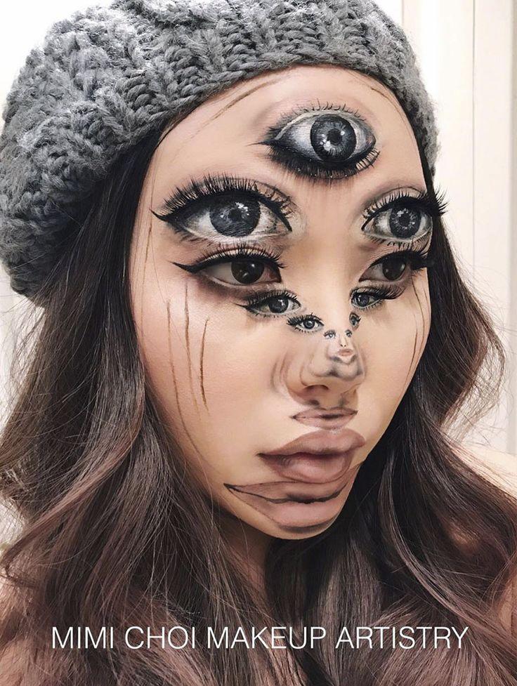 Optische-Täuschung-Make-up-Mimi-Choi