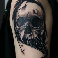 Татуировка череп: значение, фото, эскизы