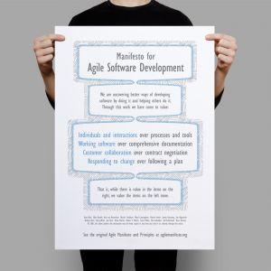 Agile Manifesto Poster