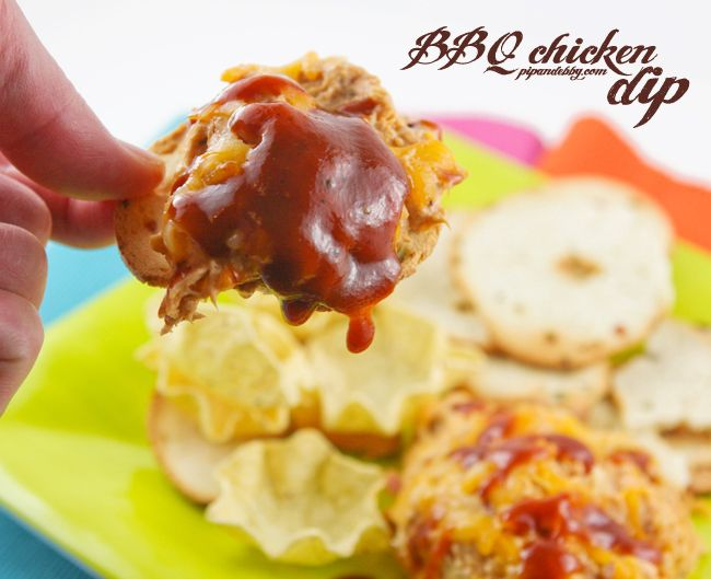 BBQ Chicken Dip — Pip and Ebby