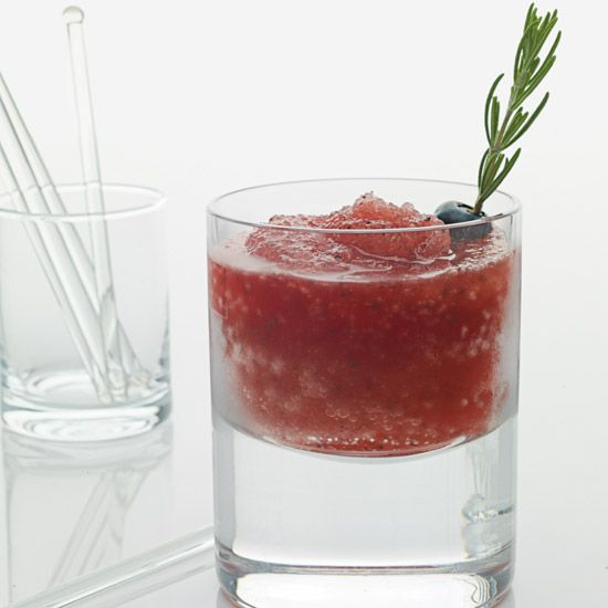 Blueberries, bourbon, maple-rosemary syrup, lemon juice // Cocktails ...