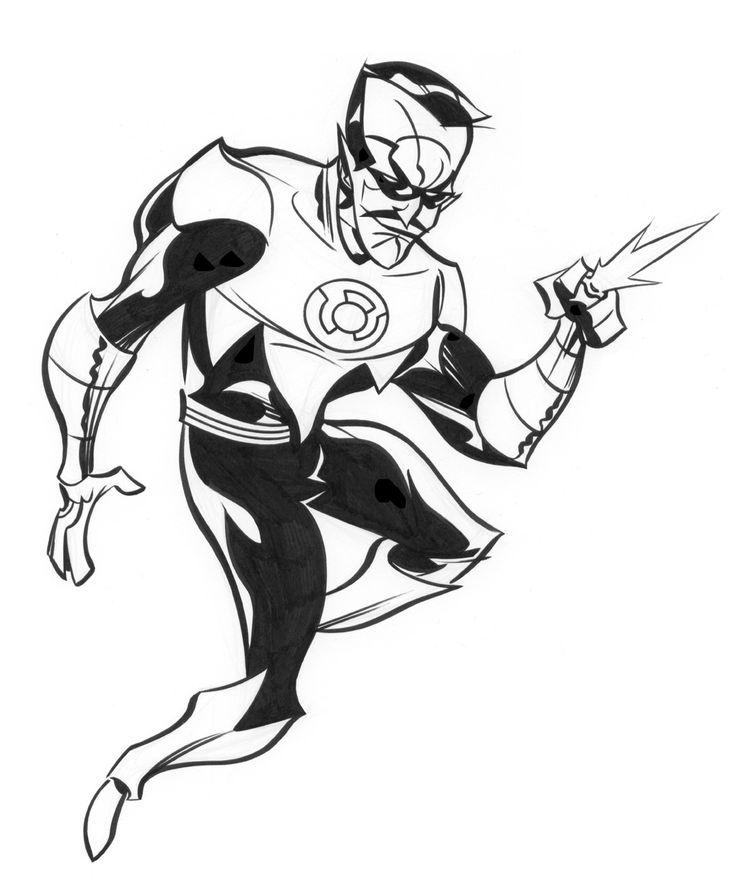 sinestro by dfridolfs on deviantart