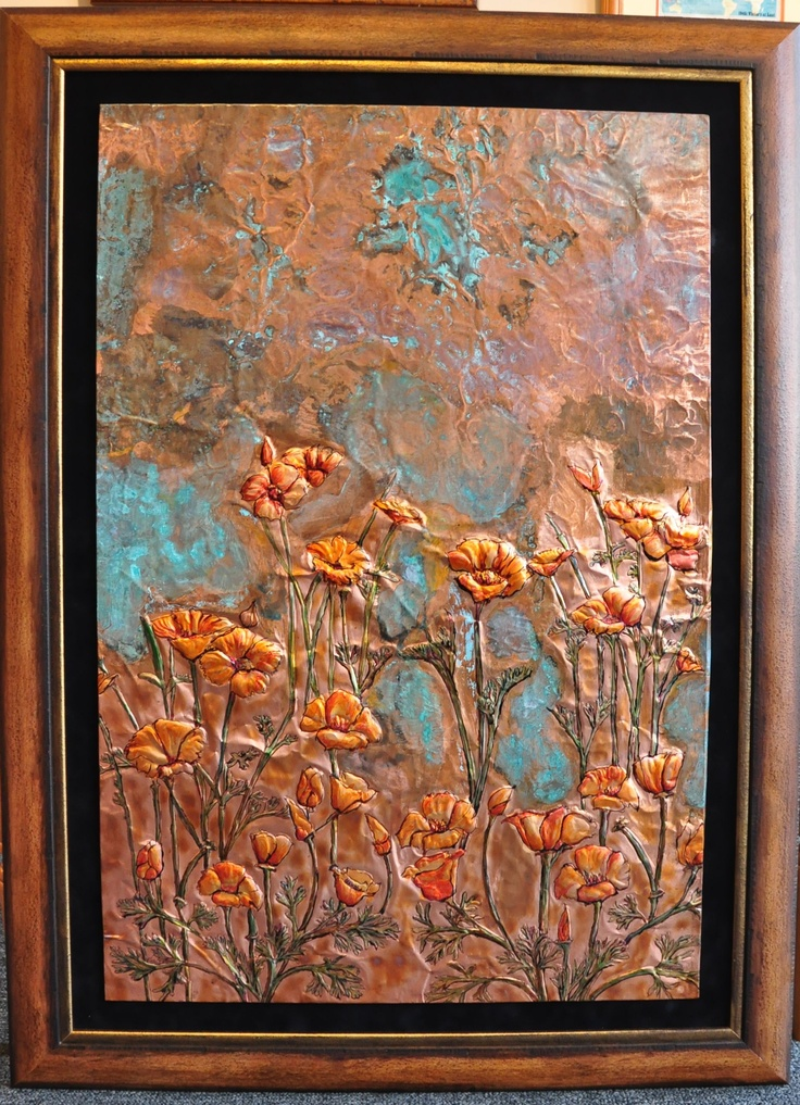 Wall Art And Decor For Living Room: 37 Best Copper Art Images On Pinterest