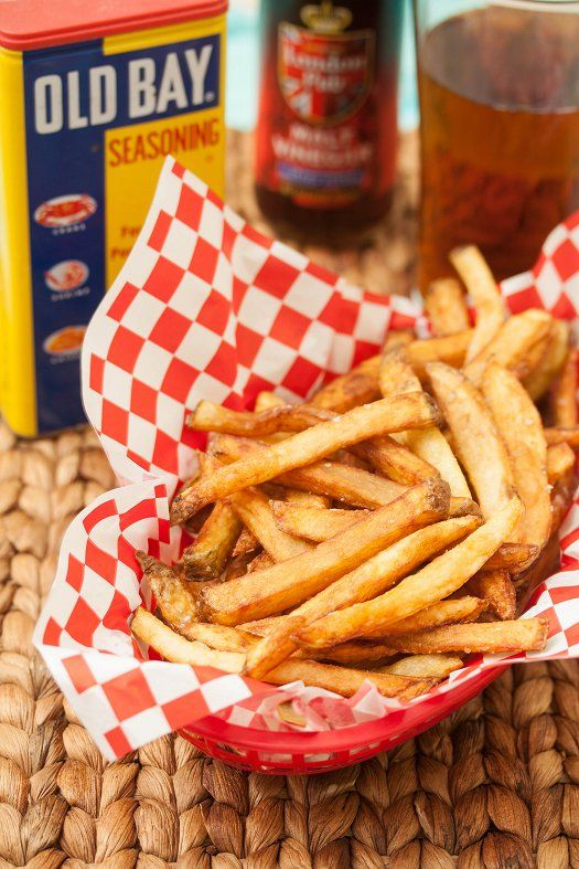 Boardwalk Fries – Talk a walk down the Jersey shore with this classic recipe. You can bake your fries for a healthier option.