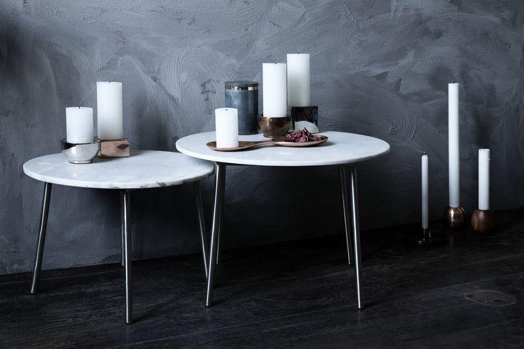 Marble tables for Broste Copenhagen AW 14.