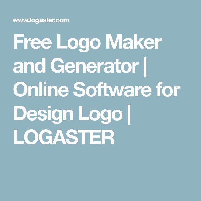Free Logo Maker and Generator | Online Software for Design Logo | LOGASTER