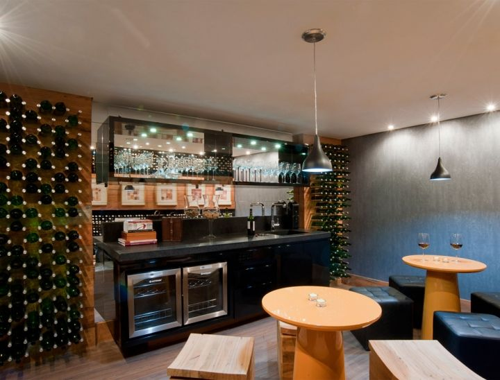Coffe Bar, Design, At Home, Wine Cellars, Wine, Interiors