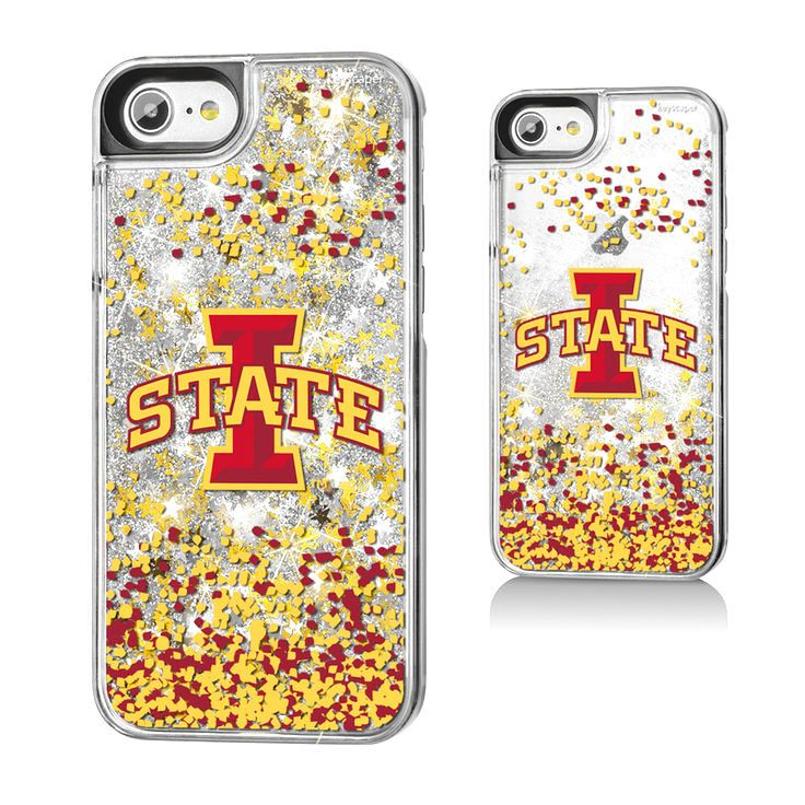 Iowa State Cyclones Gold Glitter iPhone 7 Phone Case - $19.99