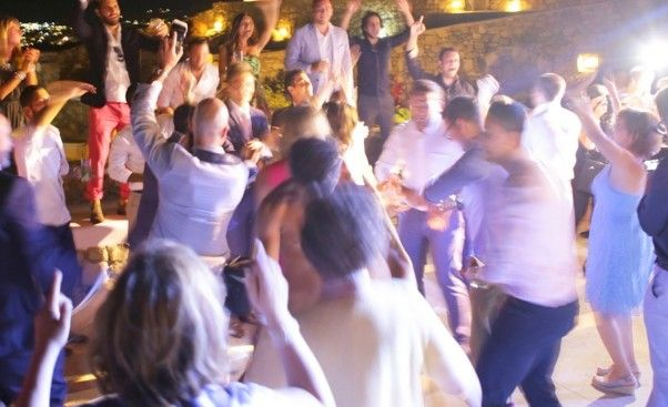 Partying in Mykonos!!!!!