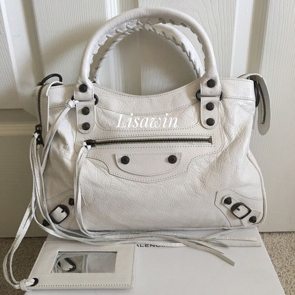 "% Authentic Balenciaga Bag  Comes with dust bag only. 13""W x 9""H Balenciaga Bags Shoulder Bags"