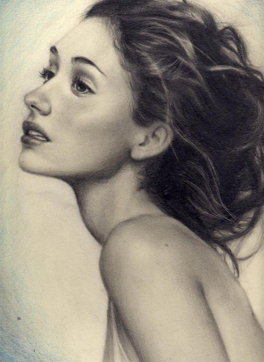 Pencil Sketches of Women Faces | female woman stock photo cached similarreclined female woman posing we ...