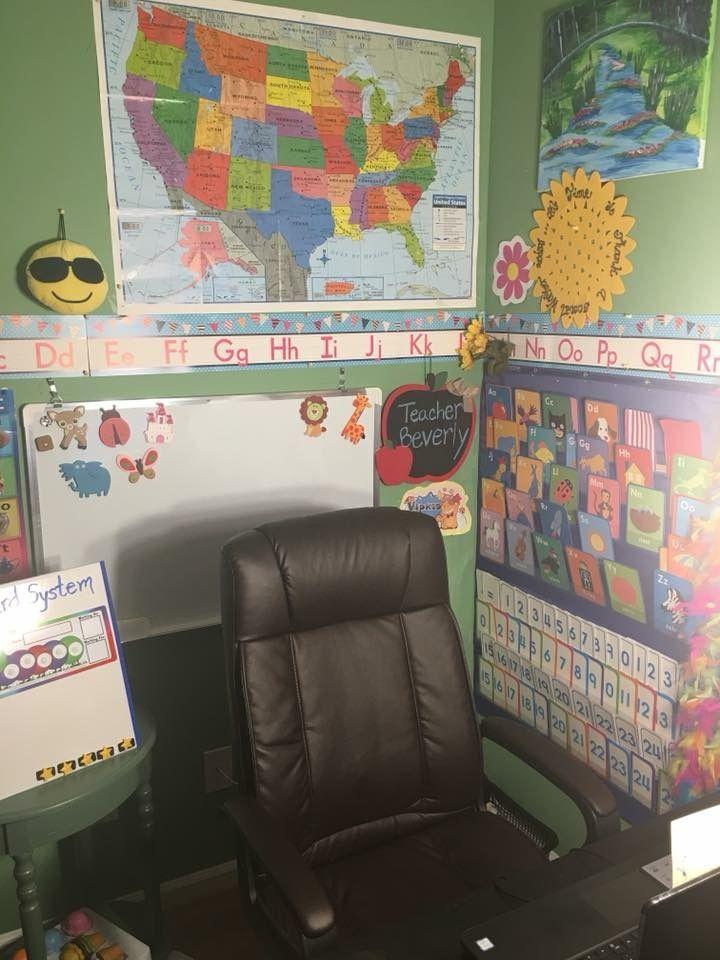 School Play Classroom Backdrop