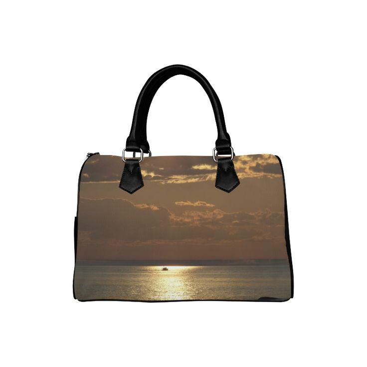 Awesome Sea Scene Boston Handbag (Model 1621)