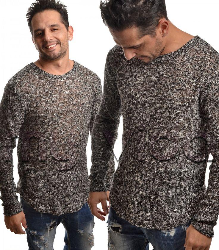 Nuova collezione Uomo maglione | My Vida #pitti #fashion #moda #accessori #casual #abbigliamento #capelli #regali #gilet #outfit #inverno #pantaloni #look #maglioni #clothing#pullover #barba #style #fitness #black