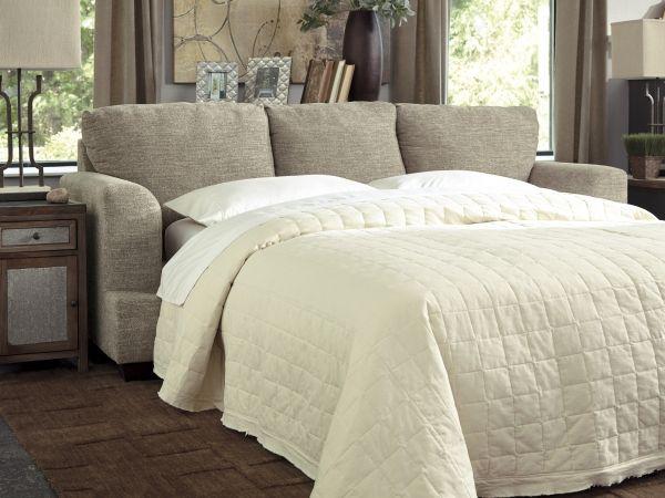 Barrish Transitional Sisal Queen Sofa Sleeper