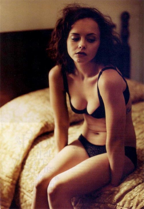 Oh my gosh I do look just like Christina Ricci!!! Creepy