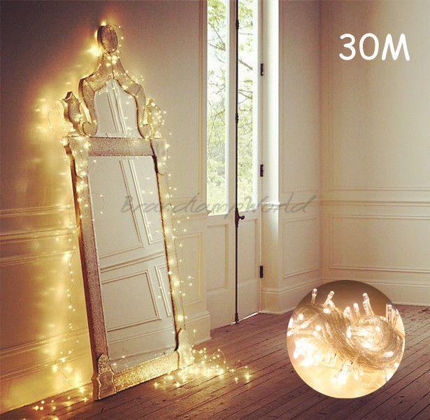 1000 ideas about led lichterkette au en on pinterest. Black Bedroom Furniture Sets. Home Design Ideas