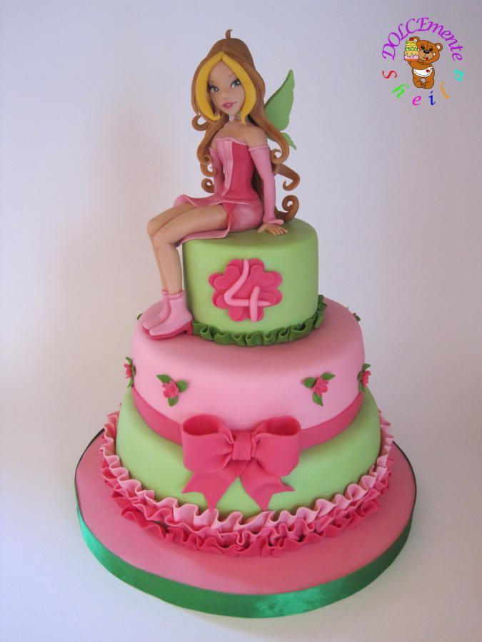 bolos winx decorados