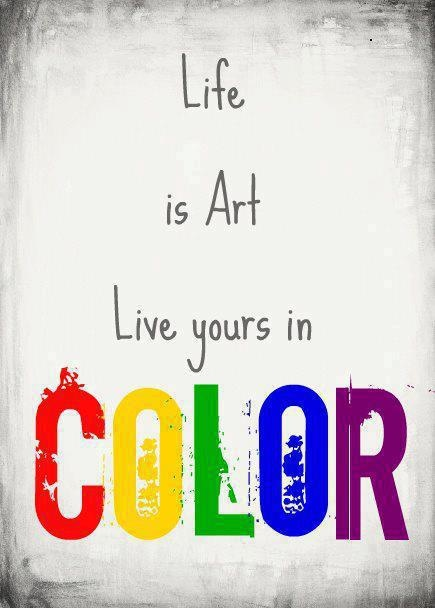 Live Your Life In Color!   Interesting Stuff   Pinterest   Interesting Stuff