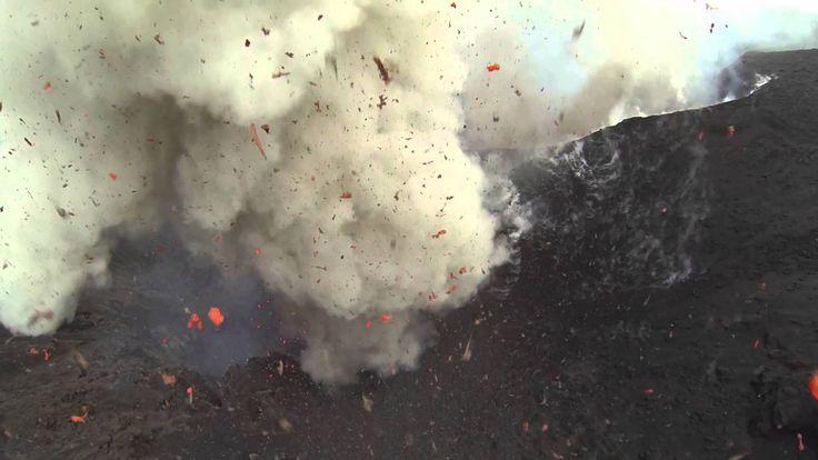 Drone flies into Volcano