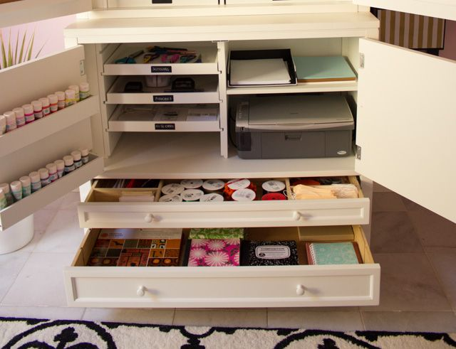 Storage Solutions For Craft Rooms: 57 Best Martha Stewart Craft Storage Solutions Images On