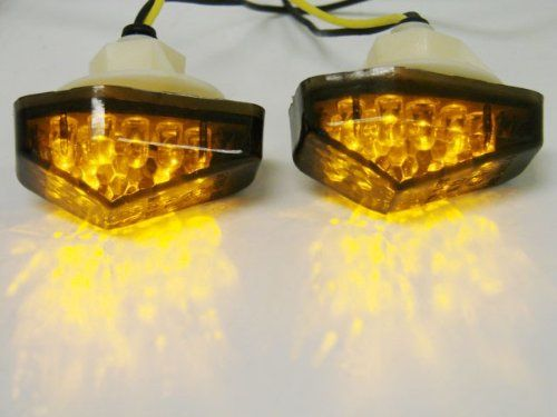 102 best turn signals images on pinterest amber kawasaki ninja look for tms smoke flush mount led turn signal for 2000 2005 suzuki gsxr 600 sciox Image collections